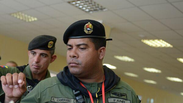 Militares venezolanos en Juegos Militares de Rusia - Sputnik Mundo