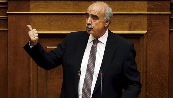 Vangelis Meimarakis, líder del partido Nueva Democracia - Sputnik Mundo