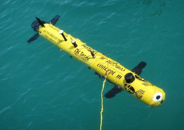 Aparato submarino no tripulado Concept-M