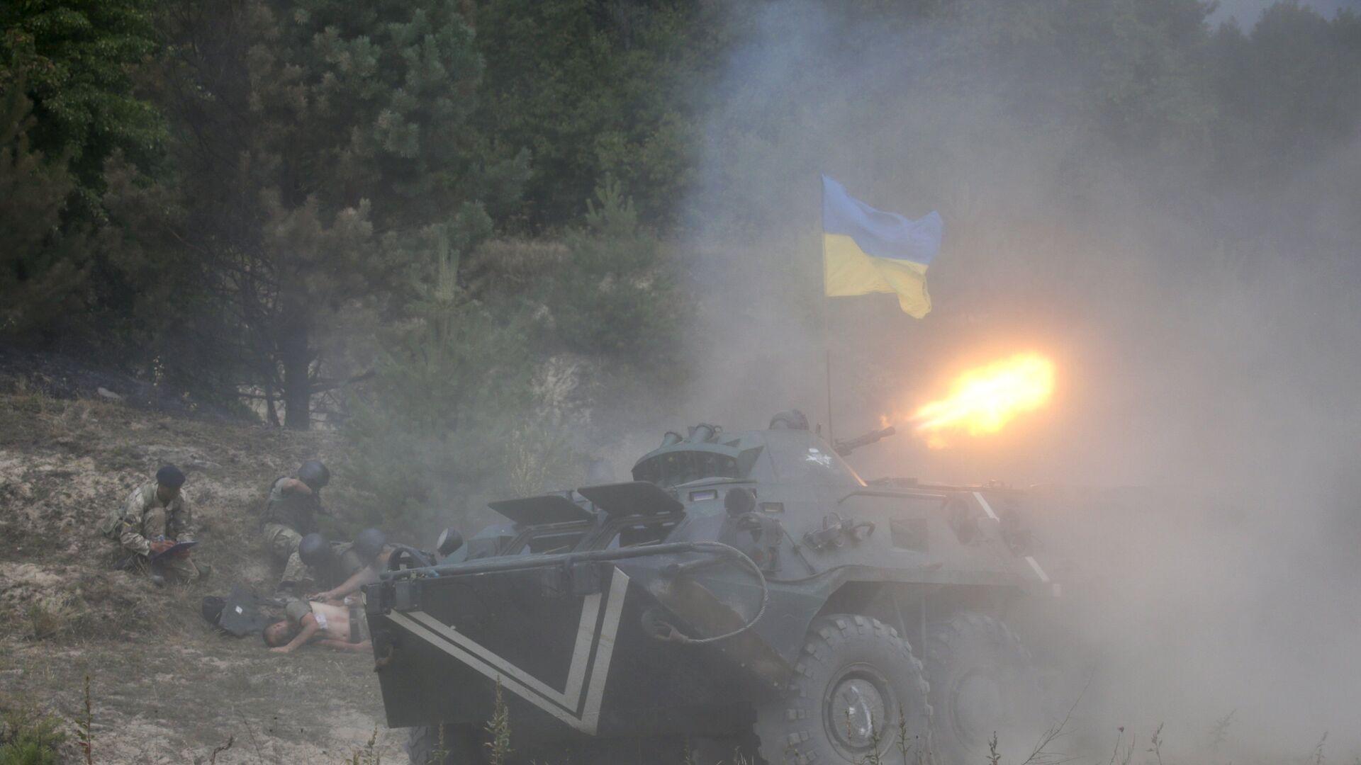 Ejercicios militares internacionales en Ucrania - Sputnik Mundo, 1920, 11.06.2021