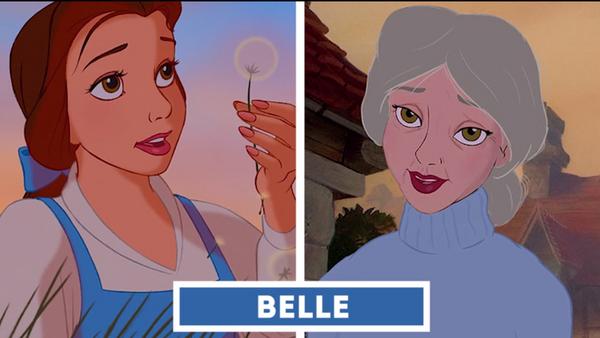 El aspecto que tendrían de mayores las princesas Disney - Sputnik Mundo