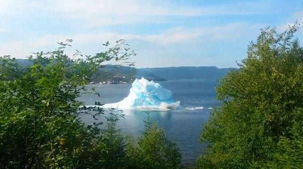 Cómo se derrite un iceberg - Sputnik Mundo