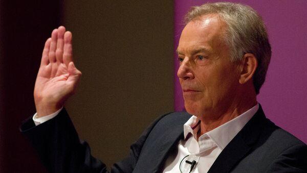 Tony Blair, ex primer ministro británico - Sputnik Mundo