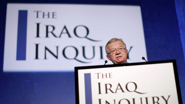 John Chilcot, presidente de la investigación sobre la guerra de Irak - Sputnik Mundo