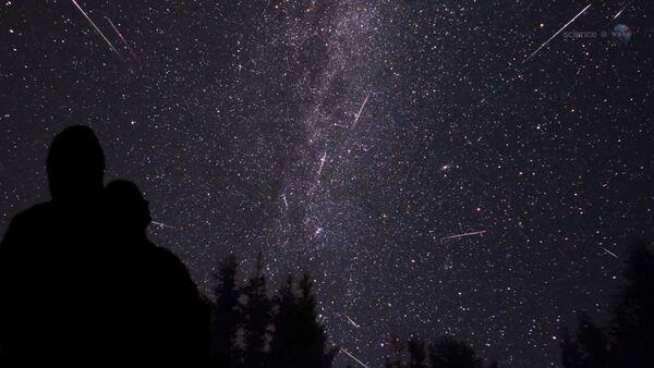 La lluvia de meteoritos - Sputnik Mundo