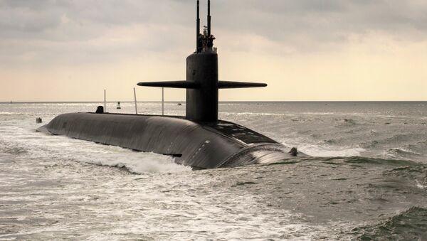 Submarino nuclear clase Ohio USS Maryland - Sputnik Mundo