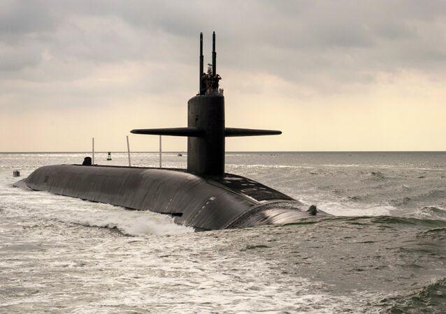 Submarino nuclear clase Ohio USS Maryland