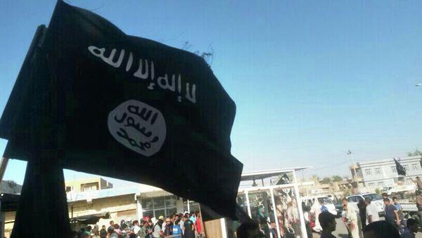 Bandera del Daesh - Sputnik Mundo