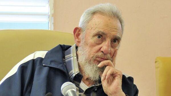 Fidel Castro (archivo) - Sputnik Mundo
