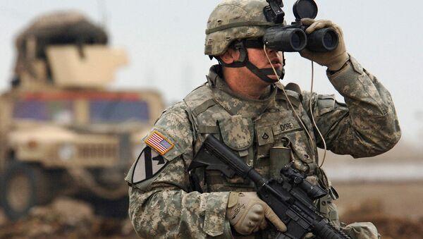 Soldado de las Fuerzas  Armadas de EEUU - Sputnik Mundo
