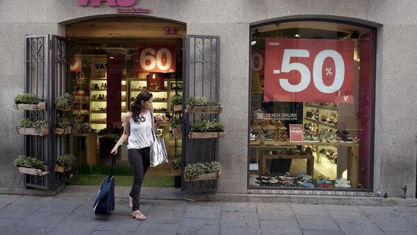 Tienda en Madrid - Sputnik Mundo