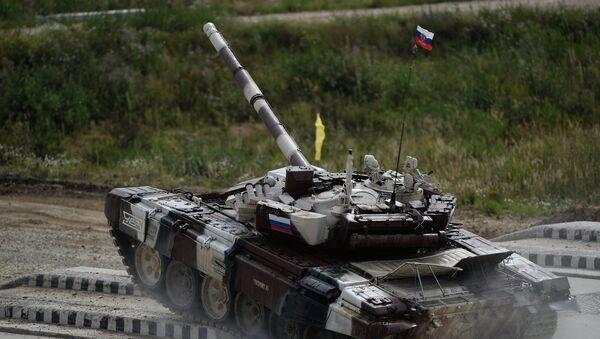 Tanque T-72 - Sputnik Mundo