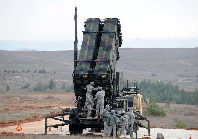 Sistema antimisil estadounidense Patriot