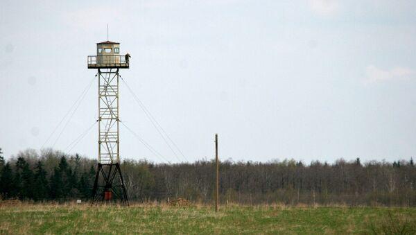 Frontera entre Rusia y Letonia - Sputnik Mundo