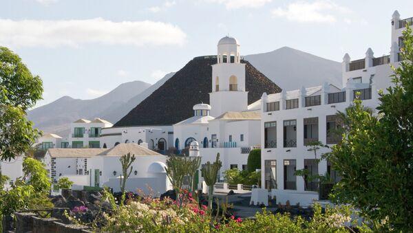 Hotel Volcán, Lanzarote, España - Sputnik Mundo