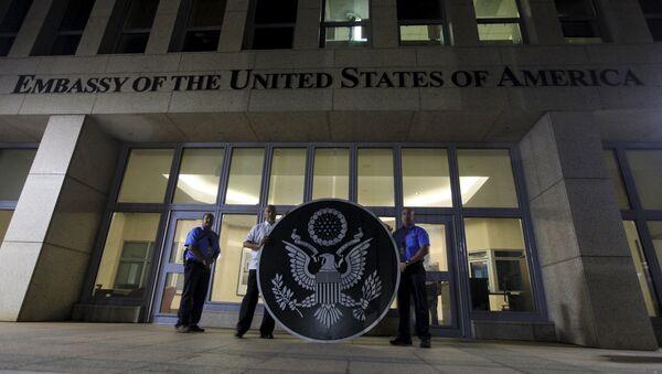 Embajada de EEUU en la Habana, capital de Cuba - Sputnik Mundo