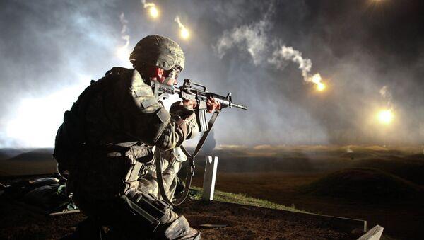Soldado de Fuerzas Armadas de EEUU - Sputnik Mundo