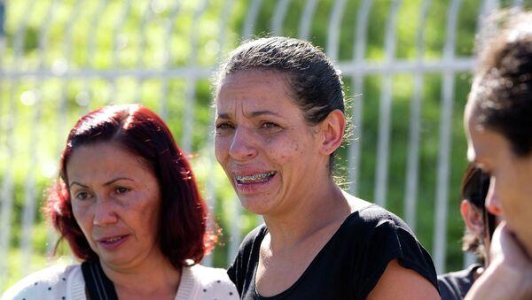 Mujer de una de las víctimas del ataque en São Paulo - Sputnik Mundo