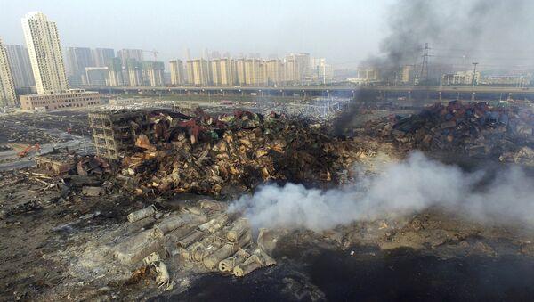 China eleva a 85 los muertos por las explosiones en Tianjin - Sputnik Mundo