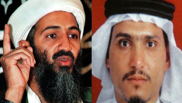Hamza bin Laden y Osama bin Laden - Sputnik Mundo