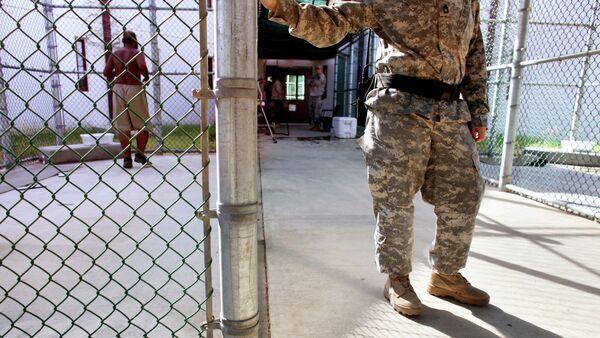 Un guardia en Guantánamo, EEUU (imagen referencial) - Sputnik Mundo