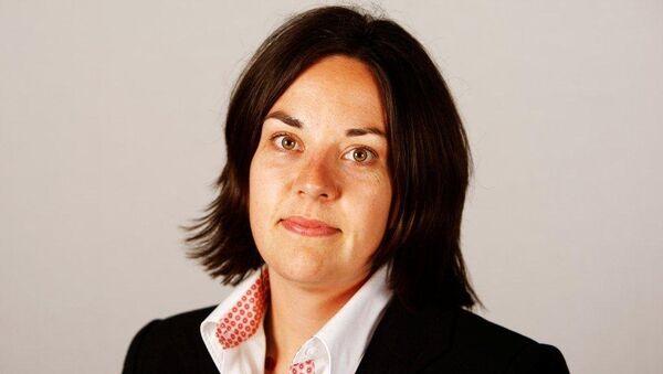 Kezia Dugdale, líder de Partido Laborista de Escocia - Sputnik Mundo