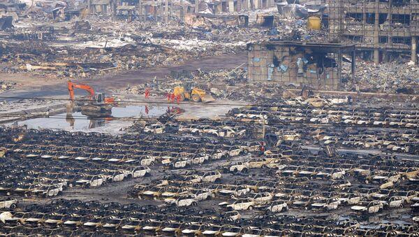 Consecuencias de las explosiones en Tianjin - Sputnik Mundo