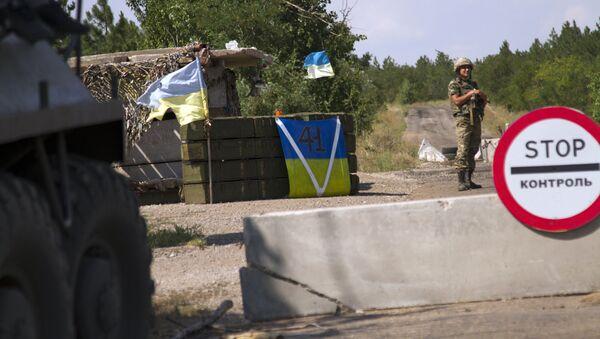 Soldado ucraniano - Sputnik Mundo