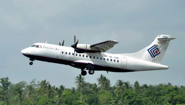 Aeronave ATR42-300 - Sputnik Mundo