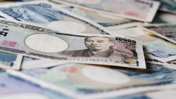 Yen japonés (imagen referencial) - Sputnik Mundo