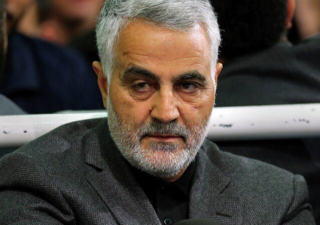 Qasem Soleimani, comandante de la Fuerza Quds de Irán
