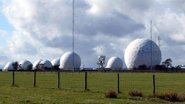 The top secret base of RAF Menwith Hill in north Yorkshire - Sputnik Mundo