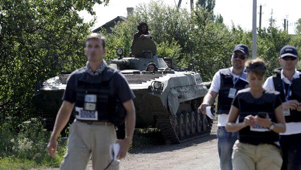 Misión Especial de Observación de la OSCE en Ucrania - Sputnik Mundo