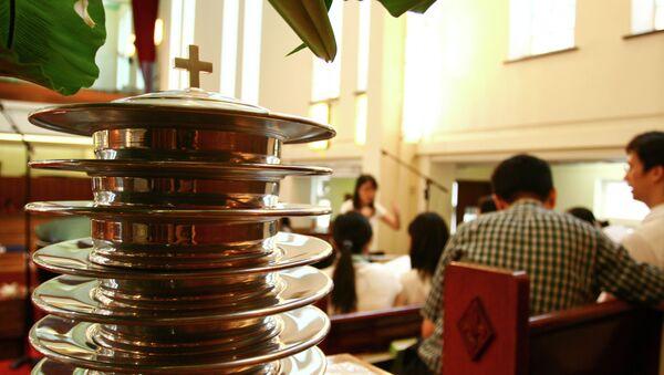 Iglesia cristiana en China - Sputnik Mundo