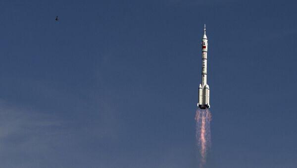 El lanzamiento del cohete chino Larga Marcha (Archivo) - Sputnik Mundo