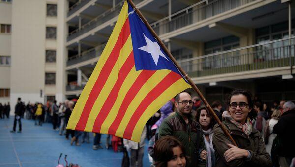 'Estelada', bandera independentista de Cataluña (imagen referencial) - Sputnik Mundo