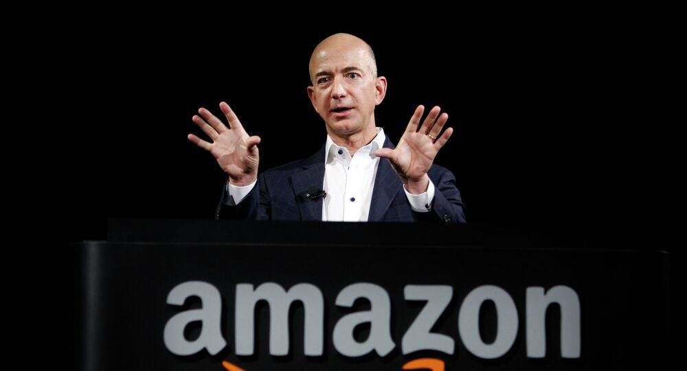 Jeff Bezos, fundador y director ejecutivo de Amazon