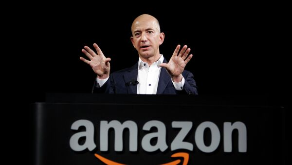 Jeff Bezos, CEO de Amazon - Sputnik Mundo