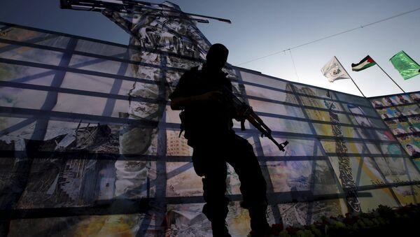 Militante palestino de Hamás - Sputnik Mundo
