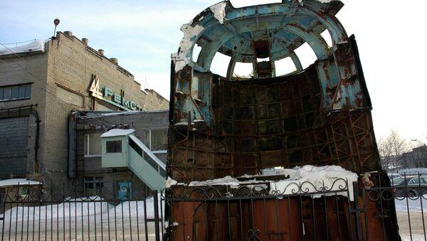 Caseta del submarino Kursk en Murmansk - Sputnik Mundo