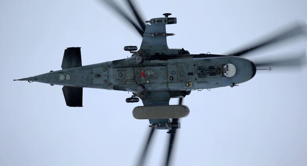 Helicóptero Ka-52 Alligator