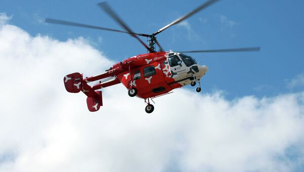 Helicóptero ligero ruso Ka-226T (archivo) - Sputnik Mundo