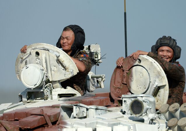 Tanquistas mongoles