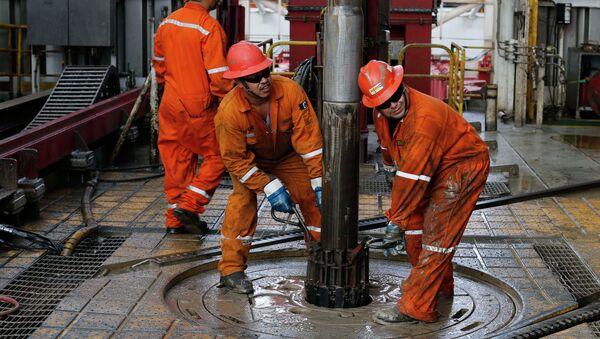 Extracción de petróleo en México - Sputnik Mundo
