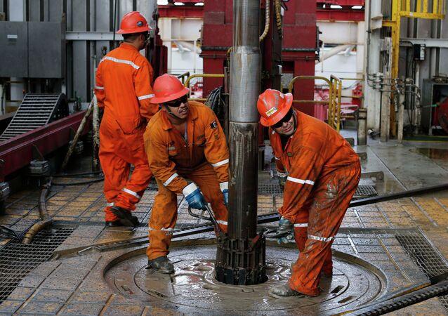 Extracción de petróleo en México