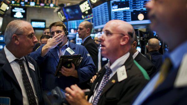 Inversores en Nueva York - Sputnik Mundo
