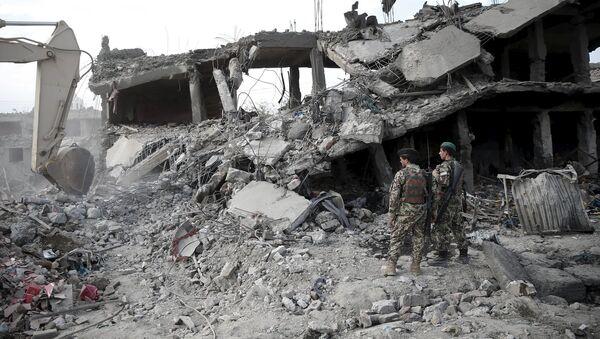 Explosión en Kabul (archivo) - Sputnik Mundo