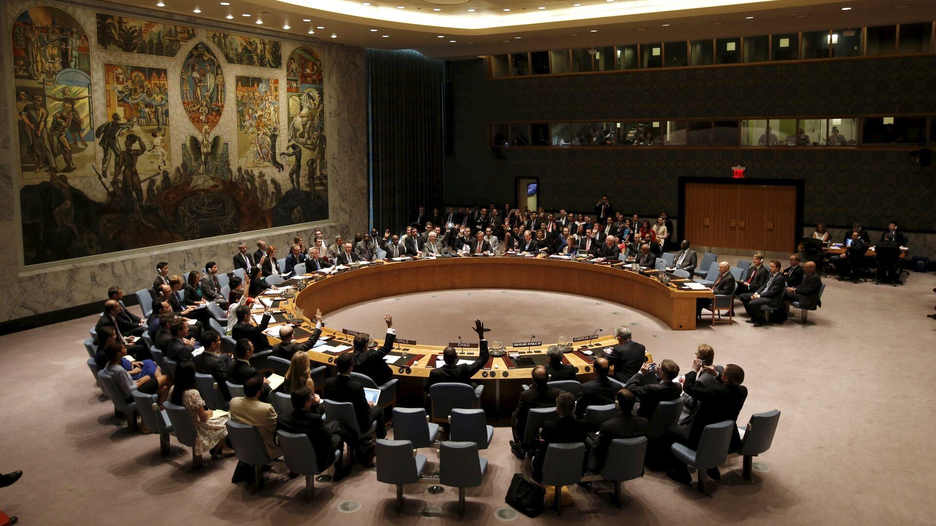 Consejo de Seguridad de la ONU (archivo) - Sputnik Mundo, 1920, 17.05.2021