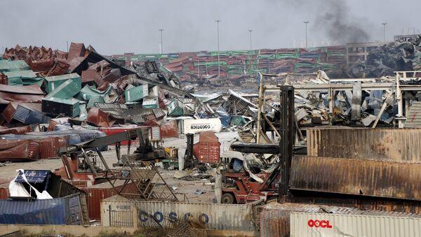 Consecuencias de la explosión en Tianjin - Sputnik Mundo