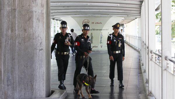Policía tailandesa - Sputnik Mundo